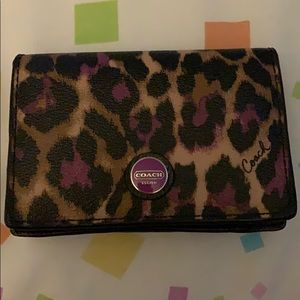 PRICE DROP Retired Coach wallet